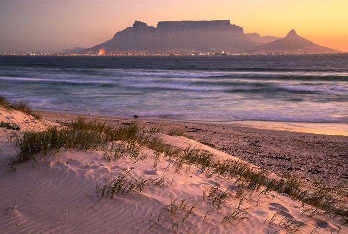 кейптаун пляж Bloubergstrand