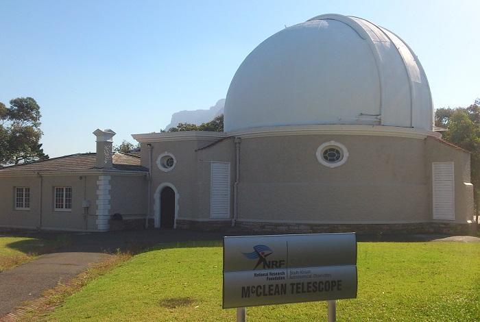 Южноафриканская астрономическая обсерватория.