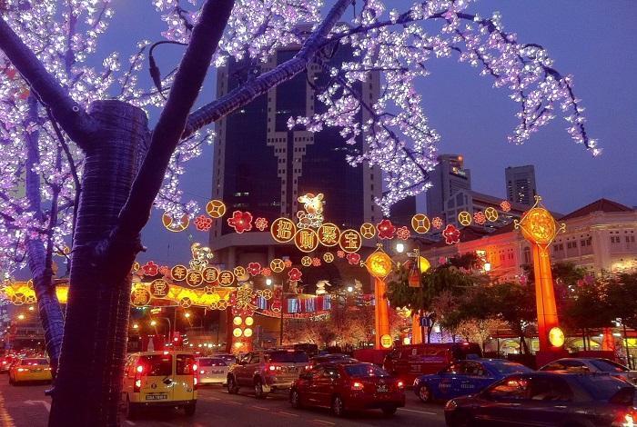 Праздник в Сингапуре