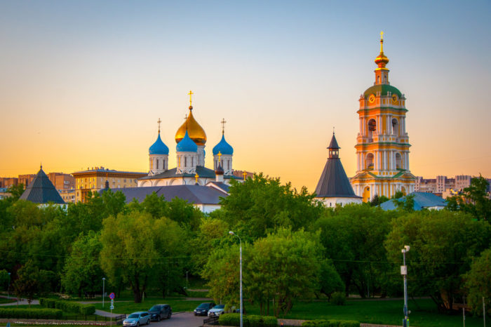 Московские монастыри