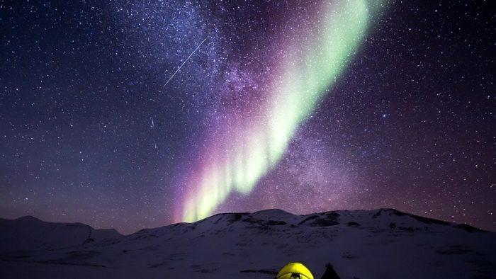 Где можно посмотреть северное сияние